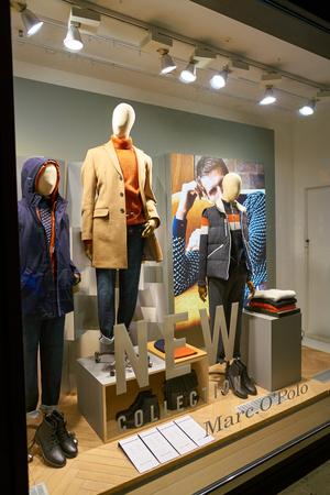 DUSSELDORF, GERMANY - CIRCA SEPTEMBER, 2018: mannequins on display at a shop in Dusseldorf.