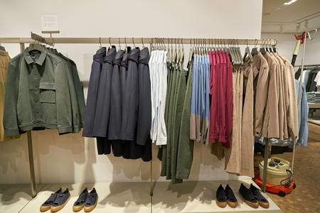 DUSSELDORF, GERMANY - CIRCA SEPTEMBER, 2018: interior shot of a shop in Dusseldorf. Editorial