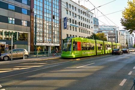 DUSSELDORF, GERMANY - CIRCA SEPTEMBER, 2018: Dusseldorf urban landscape.