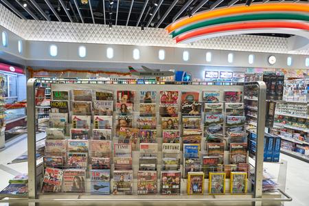 HONG KONG, CHINA - CIRCA JANUARY, 2019: 7-Eleven convenience store in Hong Kong international Airport.