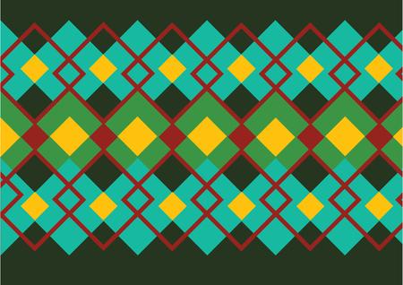 connection block: geometric pattern