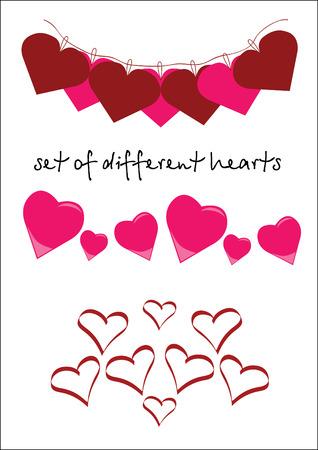 construction paper art: Heart