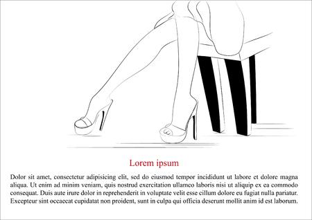 piernas de mujer: