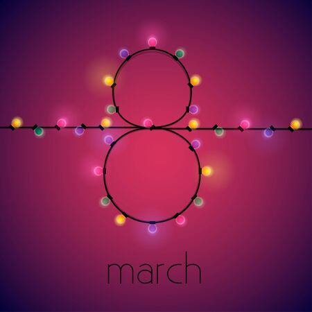 8 march illustration