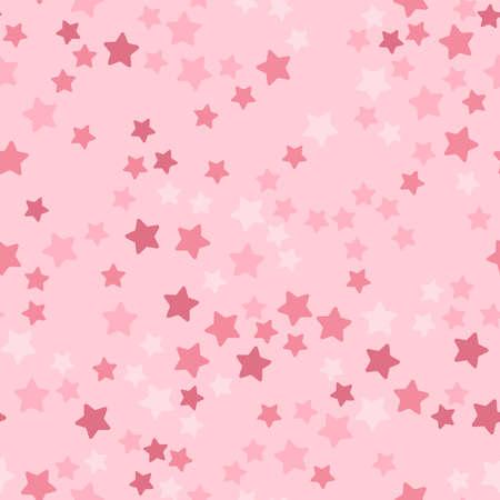 Stars seamless pattern Vector illustration in flat design
