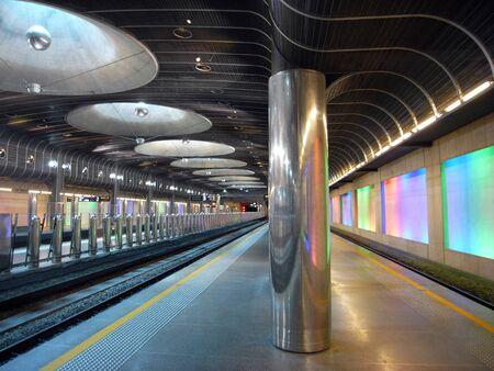 estacion de tren: Nueva estaci�n de tren - la arquitectura de Auckland