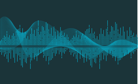 vector music wave Stock Vector - 2106348