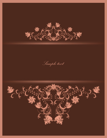 vintage template Stock Vector - 7337713