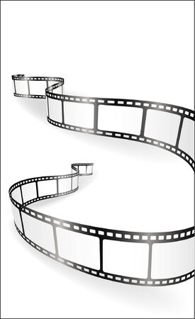 film industry: film strip