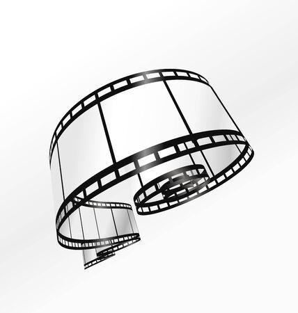 photographic film: film strip