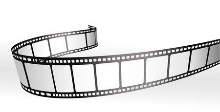 photo artistique: bandelettes de film Illustration