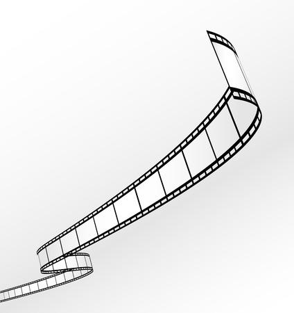 blank film strip - Stock Vector - 7373612