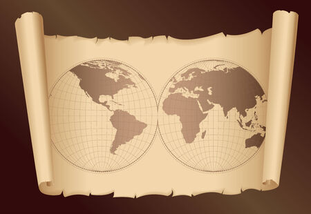old world map Stock Vector - 7395522