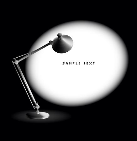 Tischlampe  Vektorgrafik