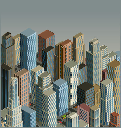 city-isometric