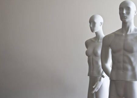 mannequin: manichini - donna e uomo Archivio Fotografico