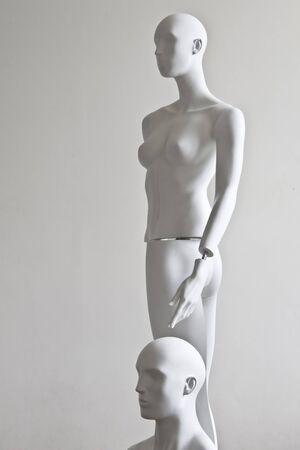 dummies - woman and man  photo