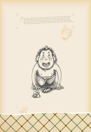 first steps: having fun - baby first steps - drawing