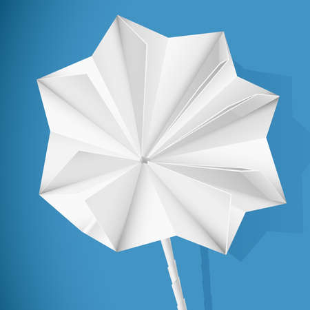 paper folding: Paper flower