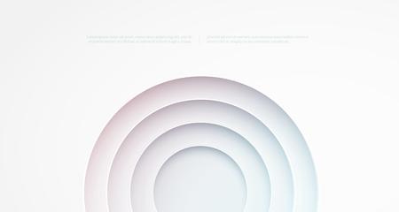 cutouts: Abstract background. Circle cutouts Illustration