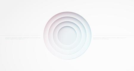 circle abstract: Abstract background. Circle cutout Illustration