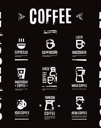 coffee icon: Coffee menu