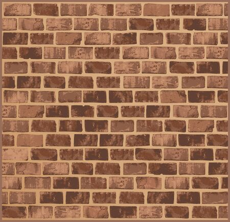 filthy: Brick wall texture Illustration