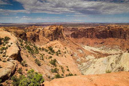upheaval: Canyonlands National Park Upheaval Area Stock Photo