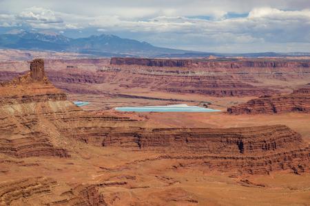 evaporacion: La evaporación de potasa Ponds en Canyonlands