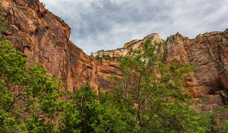 noiseless: Zion National Park Stock Photo