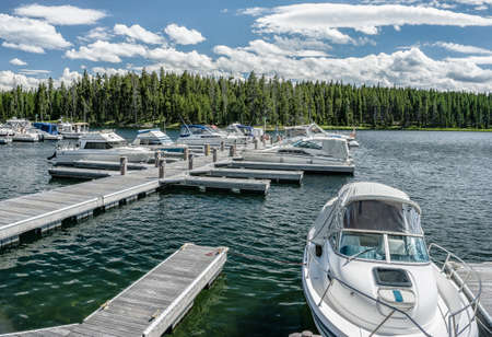 wyoming: Yellowstone Marina, Wyoming