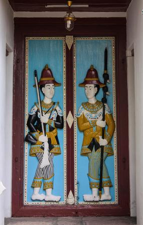Royal Palace: Beautiful Doorway at Royal Palace, Bangkok, Thailand