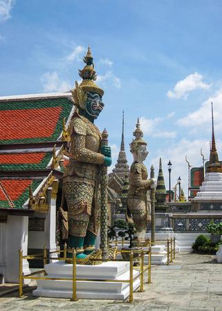 Royal Palace: Guardian at Royal Palace, Bangkok, Thailand