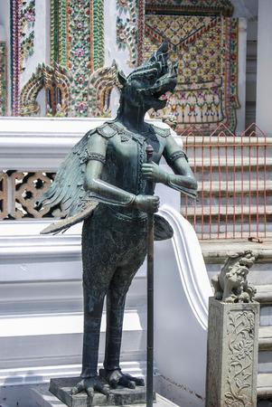 Royal Palace: Temple Guardian, Royal Palace, Bangkok, Thailand