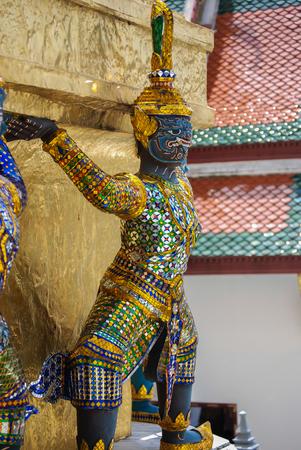Royal Palace: Temple Guardians, Royal Palace, Bangkok, Thailand