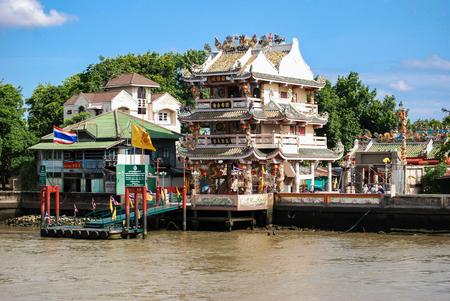 phraya: Along the Chao Phraya River, Bangkok, Thailand