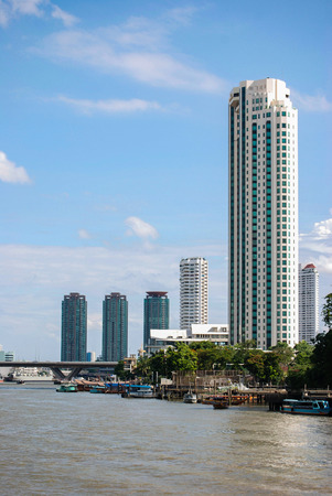 chao phraya: Along the Chao Phraya River, Bangkok, Thailand