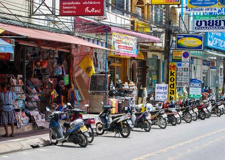 Motorcycles, Patong Beach, Thailand