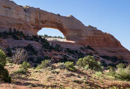canyonlands: Arch near Canyonlands National Park, Utah Stock Photo