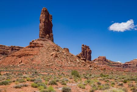 gods: Valley of the Gods, Utah Stock Photo
