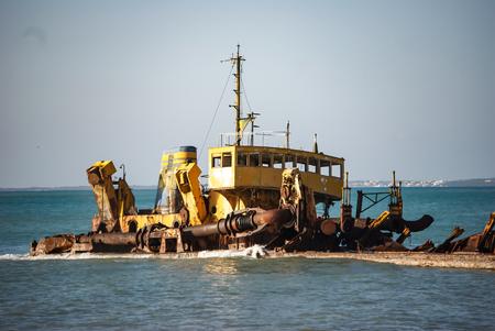 st: Shipwreck, St.  Maarten