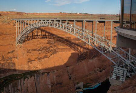 page arizona: Glen Canyon Bridge, Page, Arizona