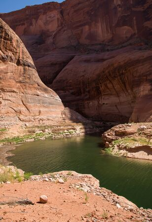 lake powell: Side Canyon, Lake Powell, Arizona and Utah