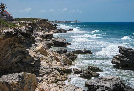 coastline: Coastline, Isla Mujeres, Mexico Stock Photo