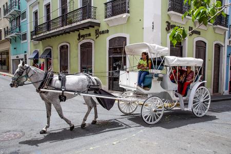 san juan: Horse and Carriage, Old San Juan, Puerto Rico
