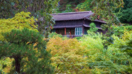 tea house: Japanese Tea House, Saratoga, California