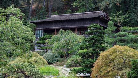 japanese tea garden: Japanese Tea House, Saratoga, California