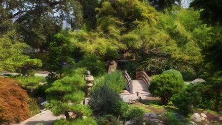 japanese tea garden: Japanese Tea Garden, Saratoga, California
