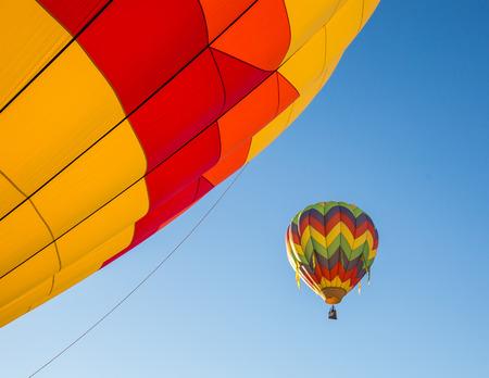 Montague Hot Air Balloon Festival, California.