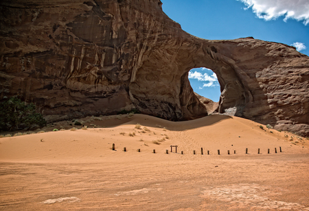 monument valley: Natural Arch,  Monument Valley, Utah